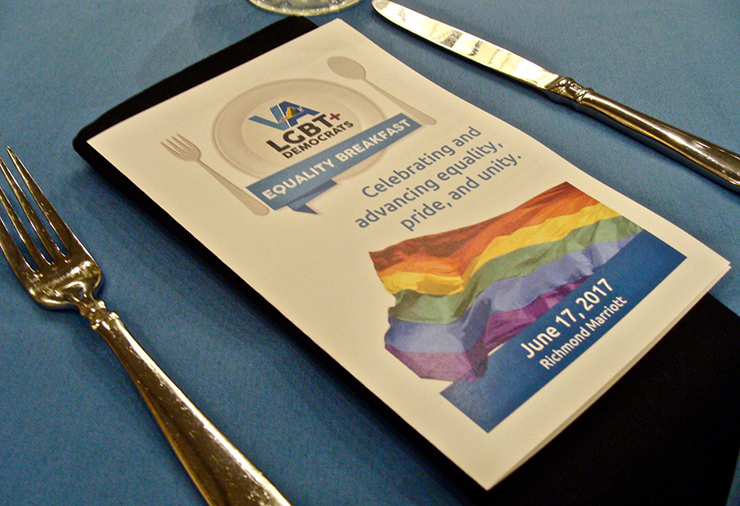2017 Equality Breakfast of LGBT Democrats of Virginia