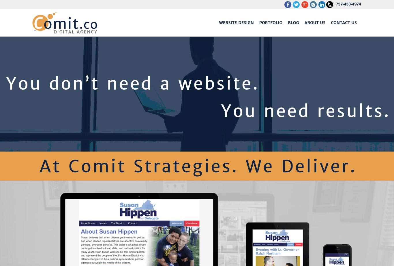 Comit Strategies Website