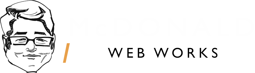McDonald Web Works Logo Wide Dark